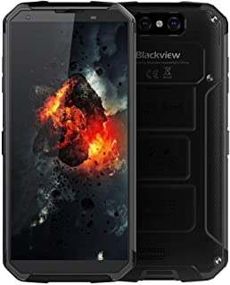 Unlocked Cell Phone, Blackview BV9500 Plus Rugged Smartphone 10000mAh Battery Wireless Charging 5.7Inch Screen Dual Sim 4GB Ram+64GB ROM Dual Camera (Black)