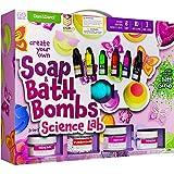 Soap & Bath Bomb Making Kit for Kids - 3-in-1 Spa Science Kits For...