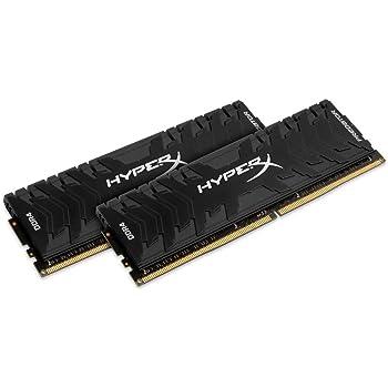 HyperX Predator - Memoria RAM de 16 GB (DDR4, Kit 2 x 8 GB, 3600 MHz, CL17, DIMM XMP, HX436C17PB4K2/16)