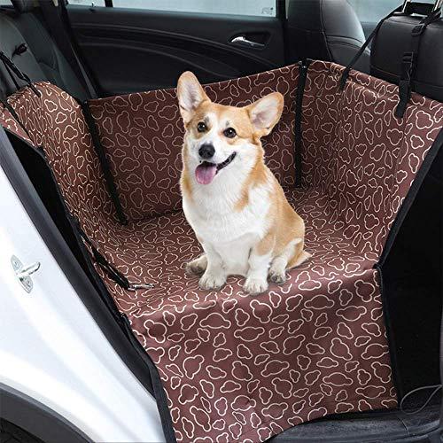 RENQINGLIN Coprisedili Auto Cane Coperta per Auto Coprimaterasso Impermeabile per Auto Coprimaterassi Coprisedile Protezione per Sedile da Viaggio Oxford Amaca Coprisedile per Cani 3