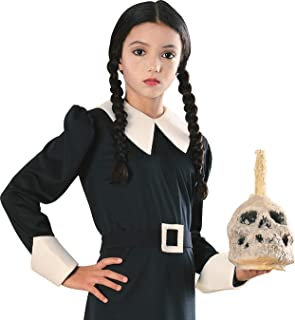Addams Family Child`s Wednesday Costume Wig