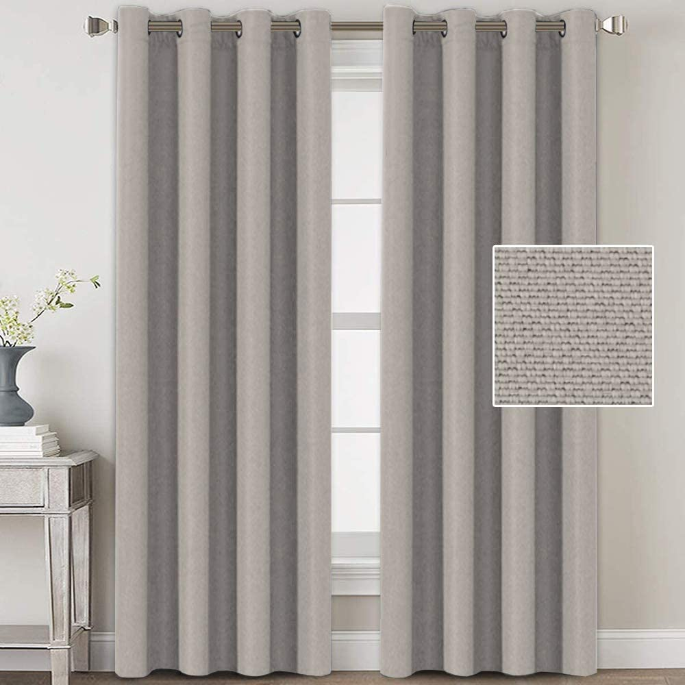 Linen Blackout Genuine Free Shipping Curtains 96 Thermal ! Super beauty product restock quality top! Soli Insulated