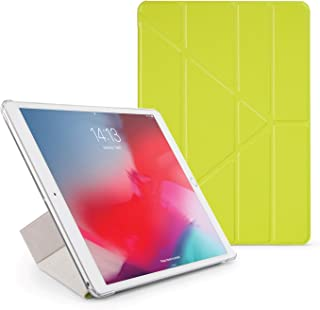 Pipetto Origami iPad Case Air 10.5 inch (2019) & Pro 10.5 inch (2017) with 5 in 1 Stand in Vegan Leather & auto Sleep/Wake...