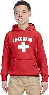 LIFEGUARD پیراهن پیراهن کش دار کلاه دار با لباس کودکان و جوانان دارای کیفیت و دارای مجوز رسمی