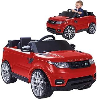 FEBER Range Rover Sport - Voiture électrique pour enfants de 3 à 7 ans, 6V, Rouge (Famosa 800009611)