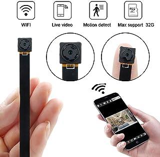 Mini Cámara WiFi UYIKOO HD 1080P Cámara Espía con Detección de Movimiento P2P Wireless IP Camera Seguridad en el hogar Cámara Nanny para iPhone/Android Vista Remota