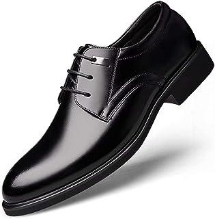 [Agogoo] 革靴 メンズ ビジネスシューズ 紳士靴 カジュアルシューズ メンズシューズ オールシーズン 軽量 クッション性 就活 通勤