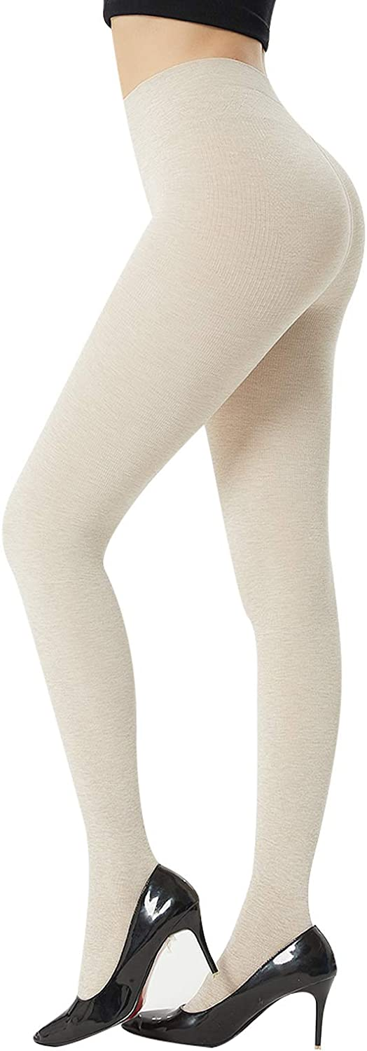 MANZI Women's Knitted Colorful Tights for Women(Pack of 2)