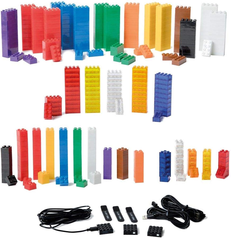 Light Stax Standard Maxi Set   360 LED-Bausteine   Bauen und Spielen mit leuchtenden Bausteinen   mit LEGO Steinen kompatibel   ab 4 Jahre B07B6LP26W  Preisrotuktion    | Bekannt für seine schöne Qualität