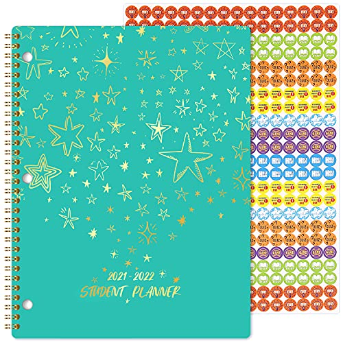 2021-2022 Student Planner - Academic Year 2021-2022 Planner from July 2021 to June 2022, 11