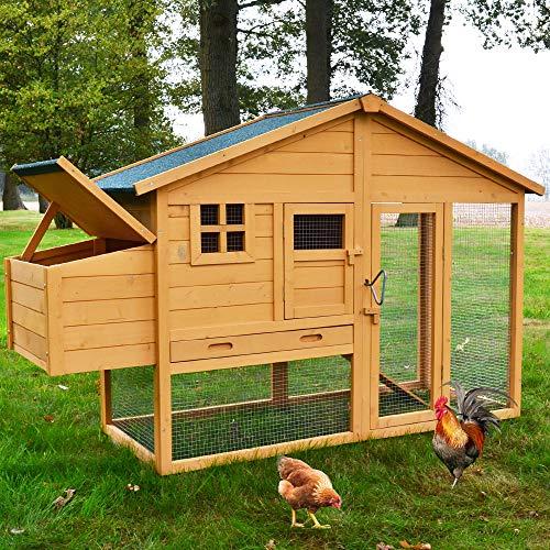 zooprinz hochwertige Hühnervoliere mit...