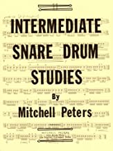 TRY1064 - Intermediate Snare Drum Studies by Mitchell Peters (1976-01-01)