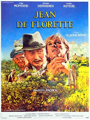 Affiche Cinéma Originale Petit Format - Jean De Florette (format 40 x 53 cm pliée)
