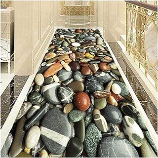 Non-Slip Carpet YANZHEN Hallway Runner Rugs No Shedding Non-Slip Backing Water Absorption Odorless Soft Blended Fiber Hote...