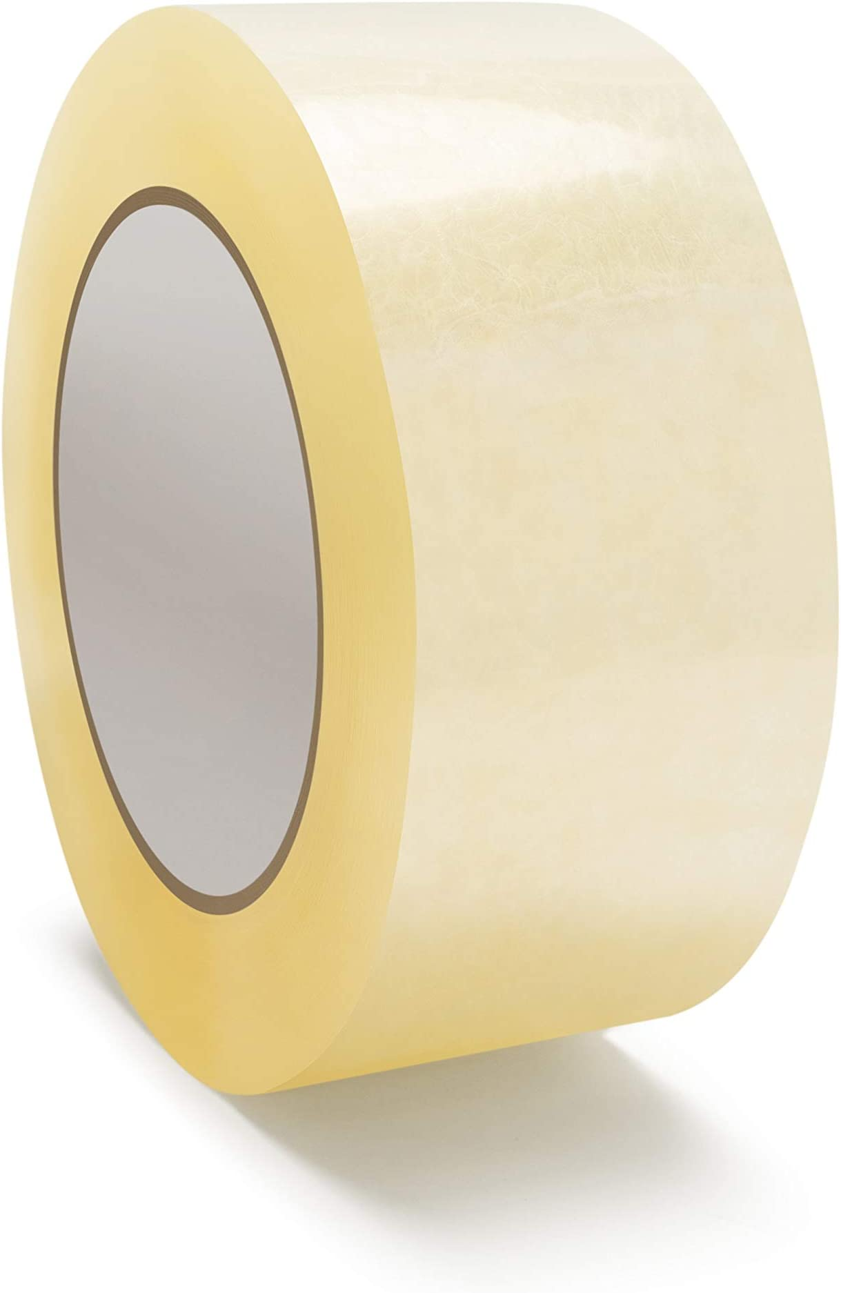 6 ROLLS EXTRA STRONG BIG TAPE BROWN HOT MELT ADHESIVE 48MM X 150M