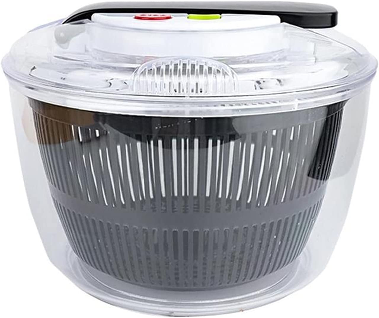 Salad Now free shipping Spinner 1pc Large Capacity Type Dehydrator Vegetable Press 2021