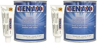 Tenax Travertine Filler - 1 liter (Pack of 2)