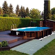 Piscina italiana exterior de madera Jardin 727