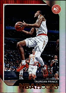 2018-19 Panini Hoops Premium Box Set Basketball #11 Taurean Prince SER199 Atlanta Hawks NBA Trading Card