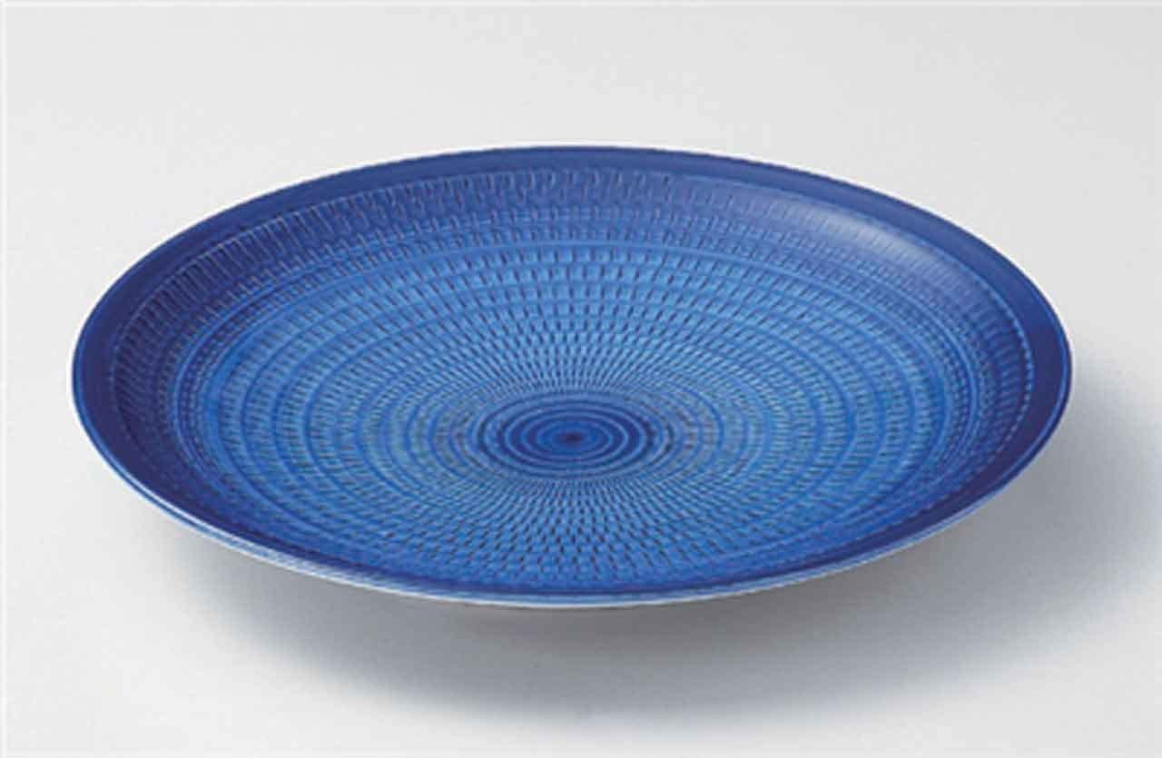 Gosu Tochiri 16.1inch Set of 2 in Large Made Max 78% OFF Plates El Paso Mall Ja porcelain