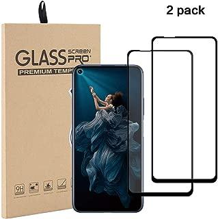 Aminery Tempered Glass Screen Protector for Huawei Nova 5T/Honor 20 (2Pack) (5.5'', Huawei Nova 5T)
