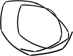 Monland Proporcion 2 1 5mm Dia Tubo termoretractil Blanco de Poliolefina 10M 32.8 pies
