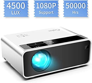 Mini proyector, ELEPHAS Video Proyector 4500 Lux Proyector