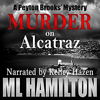 Murder on Alcatraz audiobook cover art