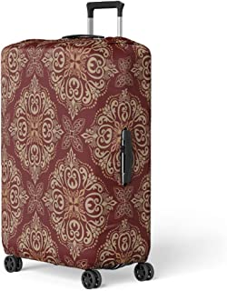 Coloranimal Stars and Stripes Pattern Luggage Protective Covers Apply to 22 24 26 Inch Trolley Case