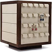 Shirleyle-HoRac Jewellery Display Stand Wooden Bracelet Holder Earring Necklace Rack Bracelet Stand for Jewelry Organization and Display for Women Girls Gifts (Color : Wood, Size : 3730cm)