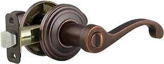 Kwikset 740CHL-501S COMMONWEALTH Keyed Lever Exterior Door Hardware - Rustic Bronze