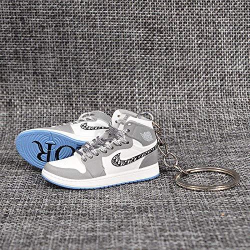 Ciondolo Jordan aj Portachiavi Modello di Scarpa Tridimensionale Ragazzo Ragazza Regalo di Compleanno Regalo Ciondolo Ornamento Una Coppia B1