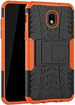 Samsung Galaxy J3 2018/J3 Orbit/J3 Achieve/J3 V 3rd Gen/J3 V 2018/Express Prime 3/J3 Prime 2/J3 Emerge 2018/Amp Prime 3/J3 Eclips, UZER Dual Layer Hybrid Hard/Soft Impact Armor Case With Kickstand