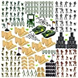 3 otters Military Figures and Accessories, 250 PCS Army...