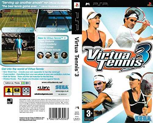 SEGA Virtua Tennis World Tour, PSP