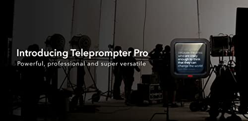 『Teleprompter Pro』のトップ画像