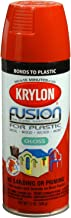 Krylon K02332007 Fusion for Plastic, Sun Dried Tomato, Gloss, 12 ounce