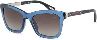 Lanvin Women's SLN673V Sunglasses Blue