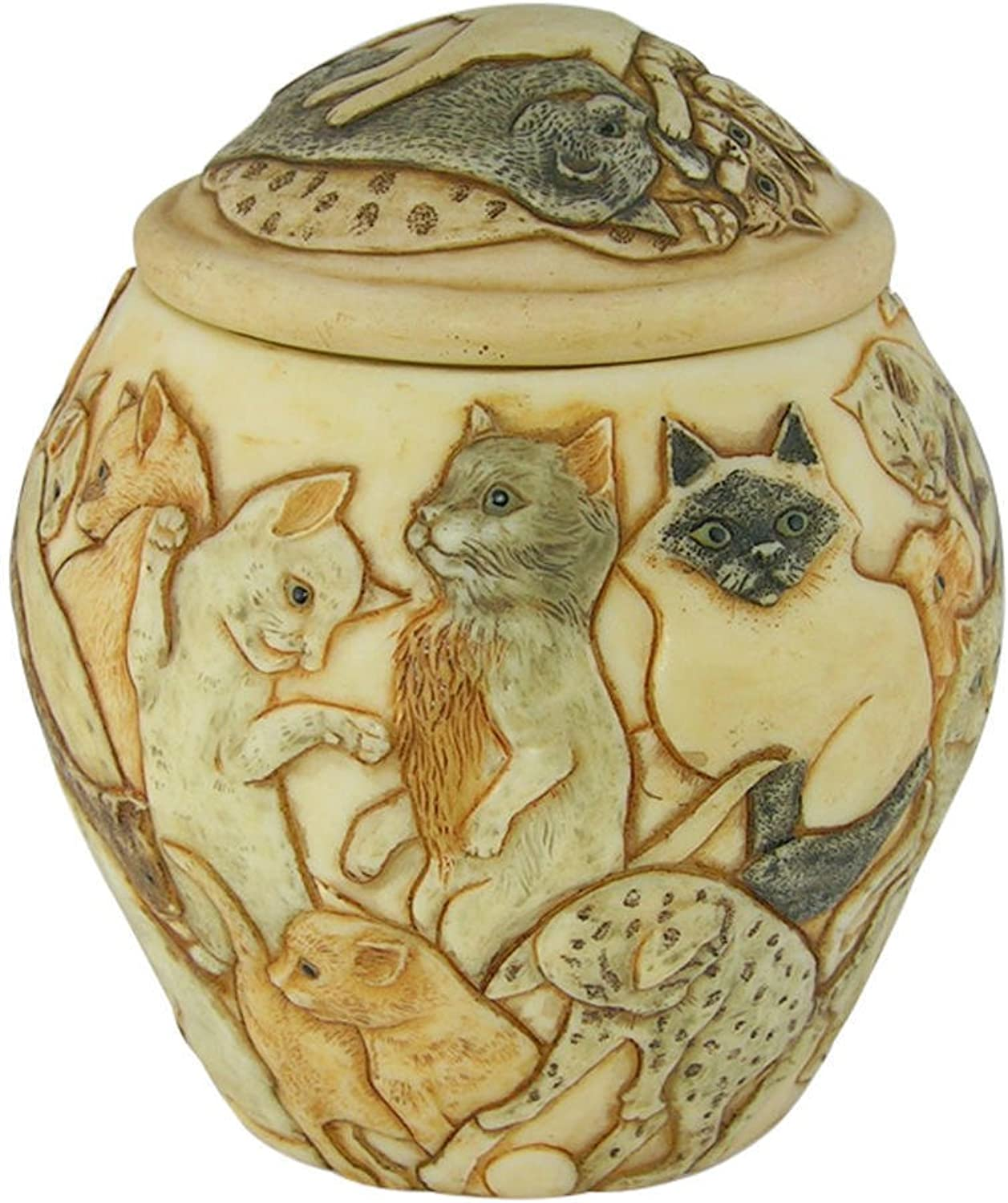 Harmony Ball Cats Galore Cat Cachepot A Beautiful Urn for Pet Ashes