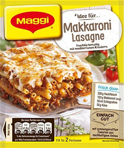 Maggi Fix und Frisch für Makkaroni Lasagne, 1er Pack (1 x 40 g)