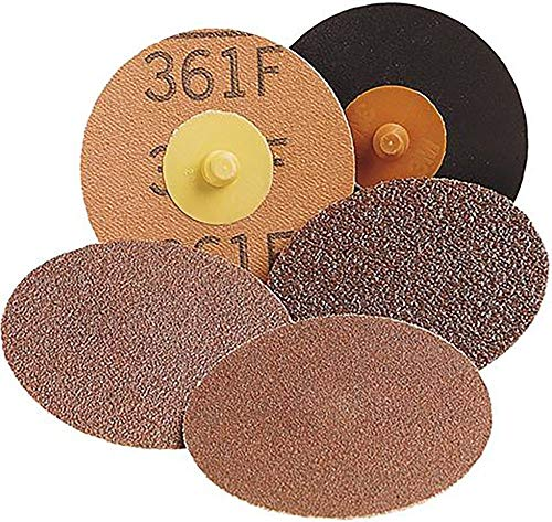 Amazing Deal Roloc Cloth Disc 361F, 3 in Die# R300V 60 YF Weight 200/Case