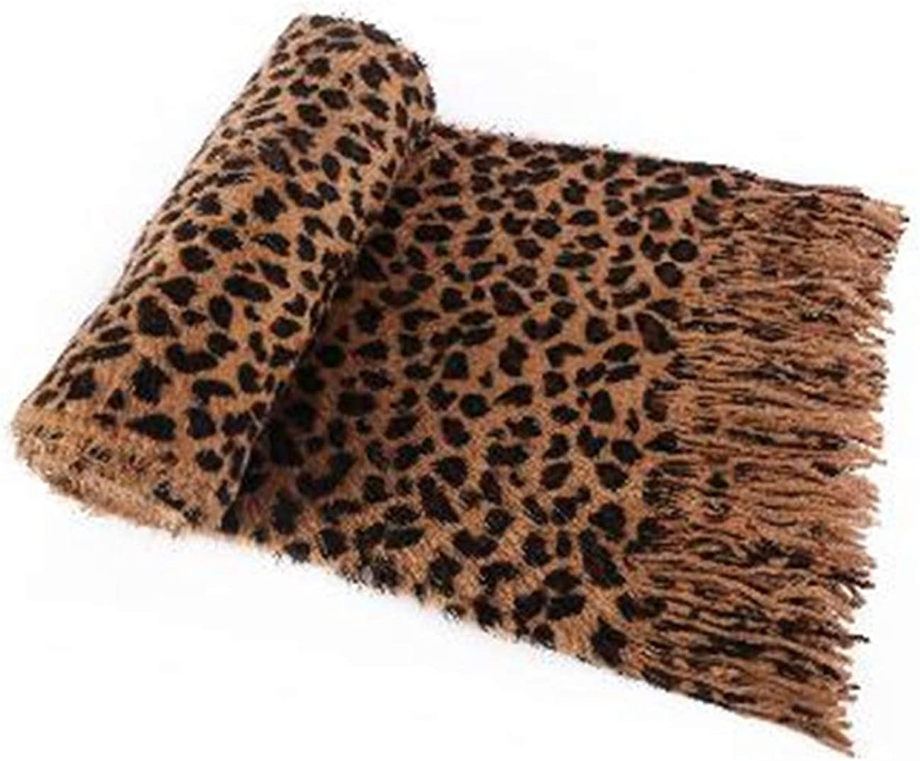 LANFIRE Fashion Leopard scarves, autumn and winter scarves
