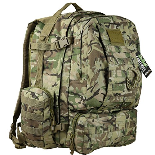 Kombat Unisex Outdoor Viking Rucksack available in Camouflage - 60 Litres
