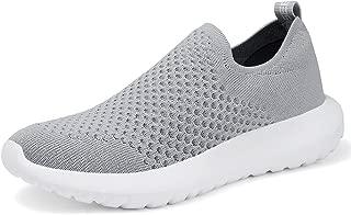 TIOSEBON Women's Athletic Walking Shoes Comfortable Slip-On Running Sneakers