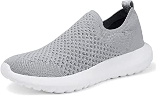 TIOSEBON Women's Athletic Walking Shoes Comfortable Slip-On Running Sneakers