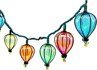 YIGUO 11FT String Lights with 10 Color Bulbs UL Listed Backyard Patio Lights Hanging Indoor/Outdoor for Tents Patio Garden Gazebo Market Cafe Party Decor