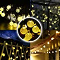 Solar Outdoor String Lights, Kohree 50 LED Globe String Fairy Lights Decorative Lights for Garden, Patio, Yard, Home, Tree, Parties
