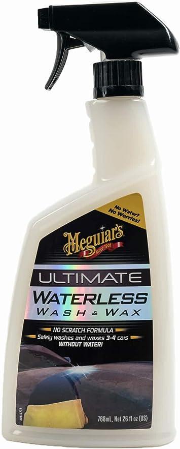 Meguiar's G3626EU Ultimate Waterless Wash & Wax Anywhere 768ml: image