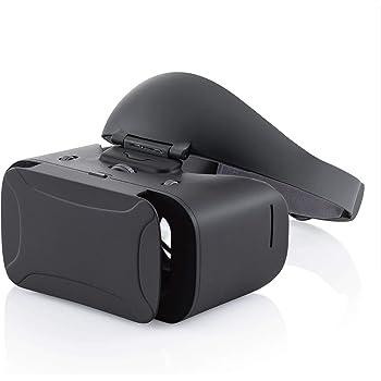 エレコム VRゴーグル VRヘッドセット 【ブルーライトカット40%】 ピント調節 目幅調節 ハードバンド ブラック VRG-GVSB01BK