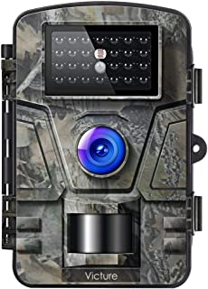 Victure Trail Game Camera with Night Vision Motion Activated 1080P 12M Hunting Camera with Upgraded Waterproof IP66 0.5s T...
